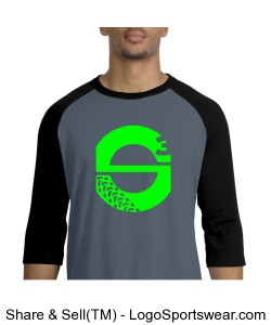 S3 Team Jersey - Grey/Green Design Zoom